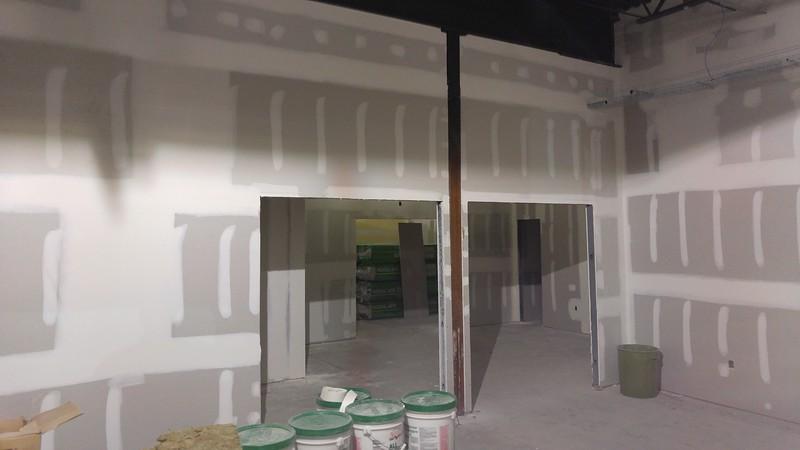 Shelby Street Progress as of March 6