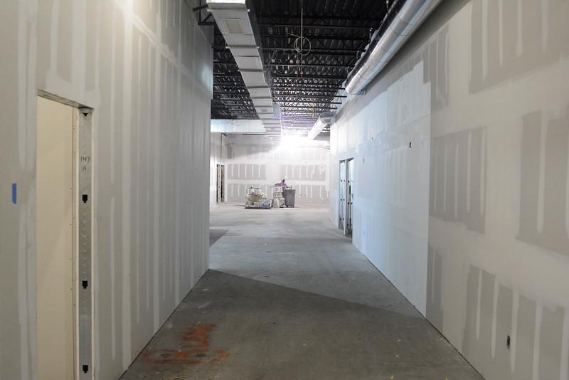 Shelby Street Progress as of March 14