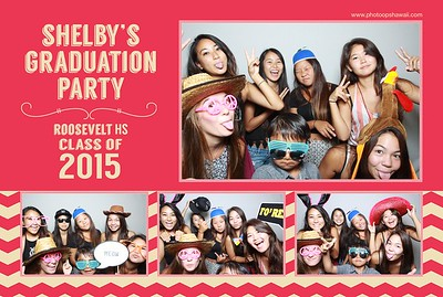Shelby's Graduation Party (Fusion Photo Booth)