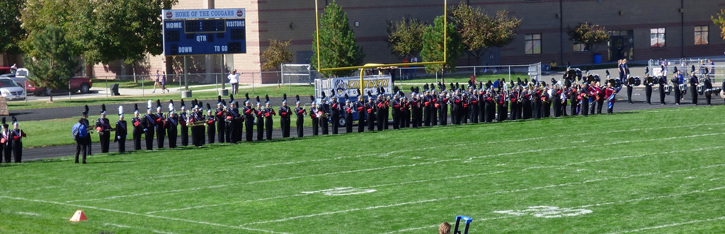 Shelby's band competition 2015
