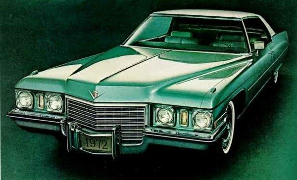 "My green 1972 Coupe De Ville, that was not at all ""green""  :)"