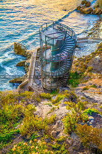 shell beach-spiral-staircase-8922