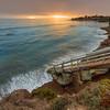 shell beach stairs 5756-