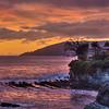 shell beach sunset 7402