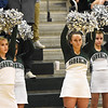 STAN HUDY - SHUDY@DIGITALFIRSTMEDIA.COM<br /> Members of the Shenendehowa cheerleading squad shake their pom poms in support of a Plainsmen free throw attempt during the second half of their non-league contest with Green Tech, Sunday, Jan. 22, 2017 at High School East.