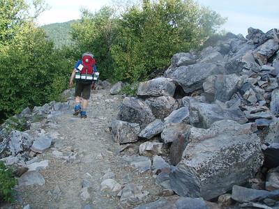 This is Shenandoah National Park's version of New Hampshire's Mt. Washington rockpile.