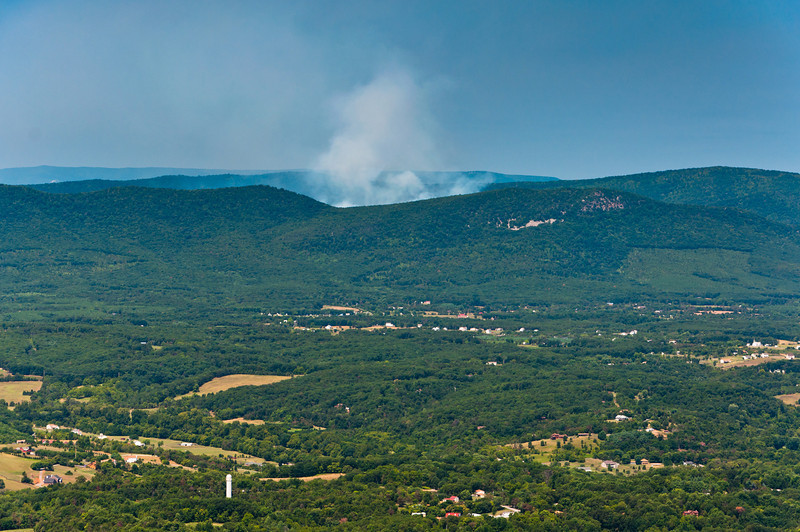 Forest Fire, Shenandoah National Park, Virginia