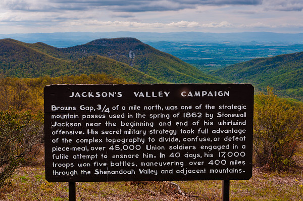 Brown's Gap, Skyline Drive, Shenandoah National Park, Virginia