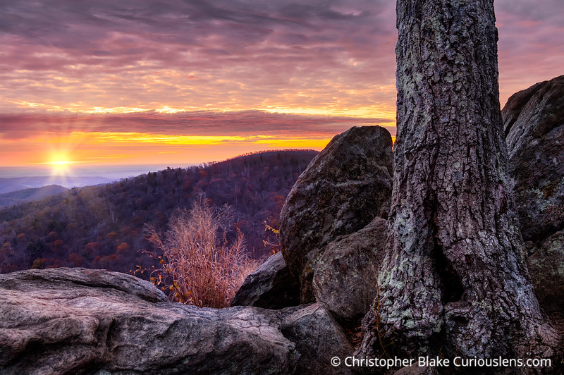 Hazel Mountain Overlook Sunrise