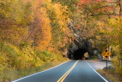 Tunnel near Thornton Gap entrance