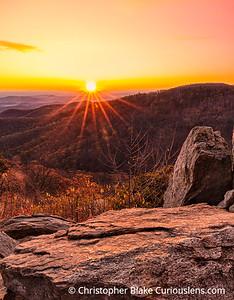 Hazel Mountain Sunburst