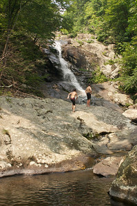 Summertime Fun at White Oak Canyon Falls