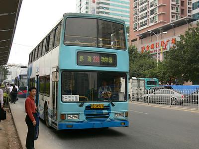 Shenzhen Bus B34911 Shenzhen Nov 07