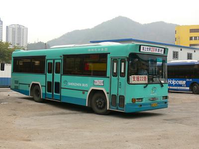 Shenzhen Bus B26210 Hai Shang Shi Jie 1 Nov 07