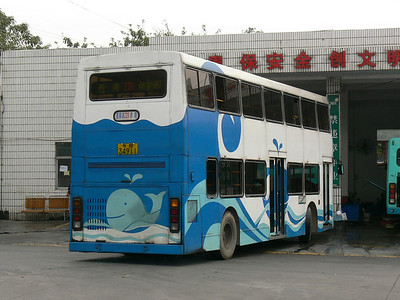 Shenzhen Bus B34911 Zoological Park 6 Nov 07