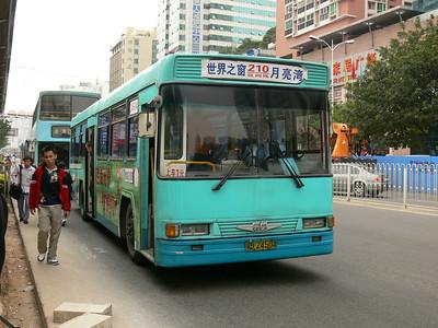 Shenzhen Bus B25204 Shenzhen Nov 07