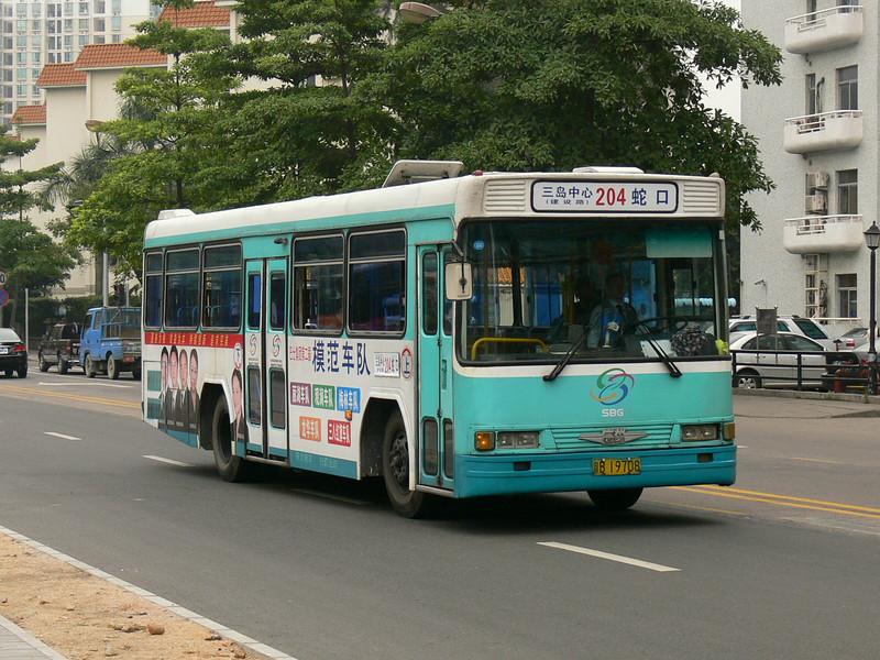 Shenzhen Bus B19708 Hai Shang Shi Jie Nov 07
