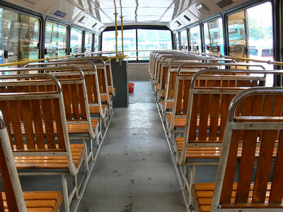 Shenzhen Bus B34999 Interior Top Deck Front View Nov 07