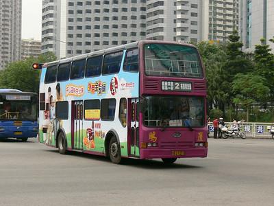 Shenzhen Bus B27205 Hua Qiang Lu Nov 07