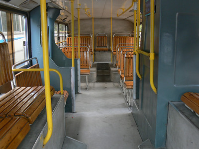 Shenzhen Bus B34999 Interior Lower Deck Rear View 1 Nov 07