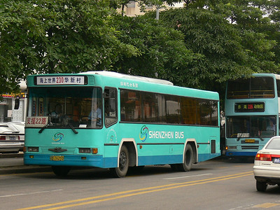 Shenzhen Bus B26210 Hai Shang Shi Jie 2 Nov 07
