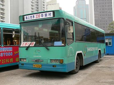 Shenzhen Bus B26064 Hai Shang Shi Jie Nov 07