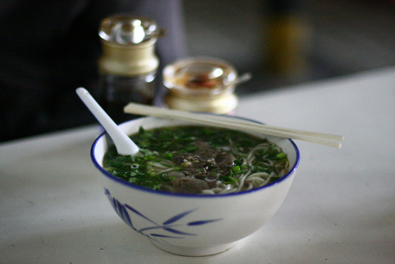 The Classic Lanzhou Lamian (pulled noodles)