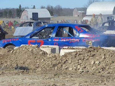 Shepherd Maple Syrup Festival Demolition Derby
