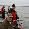 Serious Fishing.   Fred Goble and John Foster.