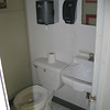 Sinks, mirrors, soap and towel dispensers
