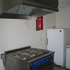 commercial electric range and hood