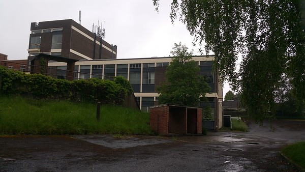 Due to much asbestos being found in these buildings,we are at present unable to go inside.