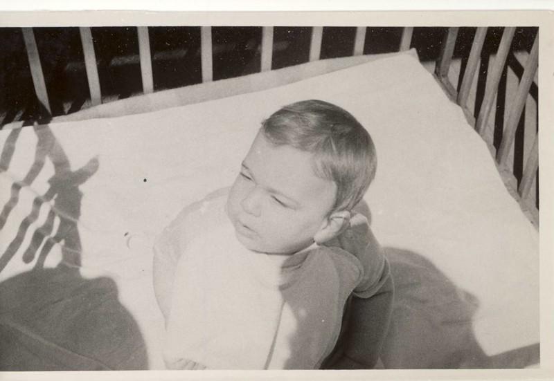 """Errol  8 months 23 lbs<br /> June 1945"""