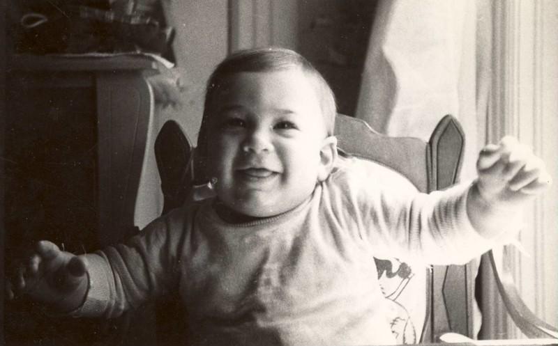 """ baby Errol  8 months 23 lbs<br /> June 1945"""