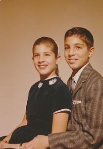 Kerry and Mimi, Dec 1962