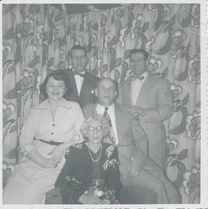Morris 40th Aniversery , Feb 4th 1951