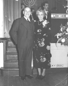 January 24, 1948 To Mr and Mrs Kitner With All my love Lorna and Merwyn. Harry S Alder Montreal.  (photostamp)