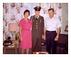 RAS11:Dick Sheridan just got back from a 3 day honeymoon to Vermont and  Saying good bye to mom Jennie and Dad Bob at their home in Cohoes N.Y. just before heading for the airport and flying to CA. before taking the USNS Upshur to Vietnam Sept 26th or 27th 1967