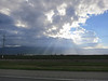 Ok, has nothing to do with the SB style, but hey, cool anti-crepuscular rays on the drive down to SB!