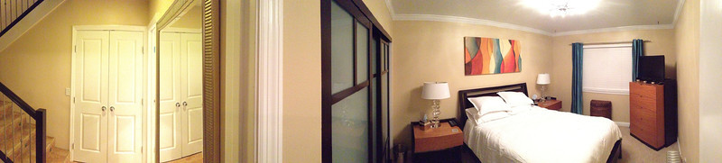 Another pano of the Master & some of the downstairs landing in SB.