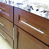 More details of the kitchen cabinet style