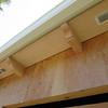 Decorative eave beams...