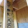 Close up for the framing for the new chimney (from underneath)