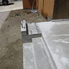 More of the concrete porch