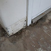 Front door water damage - with just the flooring off!