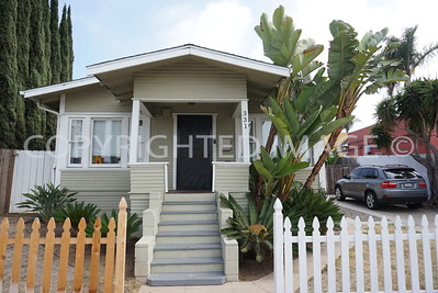 331 19th Street, Sherman Heights San Diego, CA - 1921 Craftsman