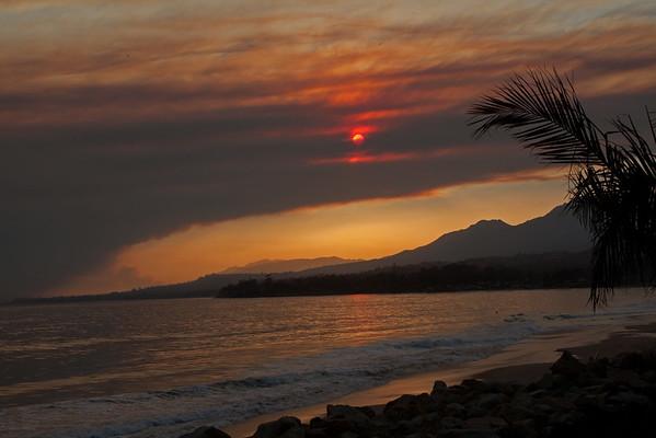 Sherpa Fire Sunset