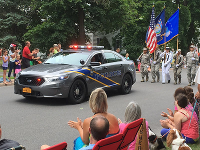 Sherrill centennial parade
