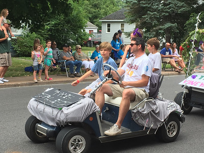 Karen Alvord - Oneida Daily Dispatch The Sherrill Centennial parade on Saturday, July 30, 2016.