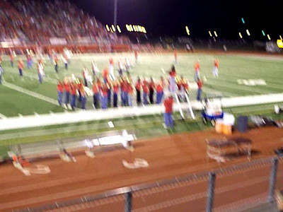 HHHS band.  Krista is 2nd from right--front row at the beginning.